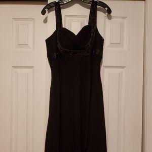 Jones Studio Cocktail dress black with sequins